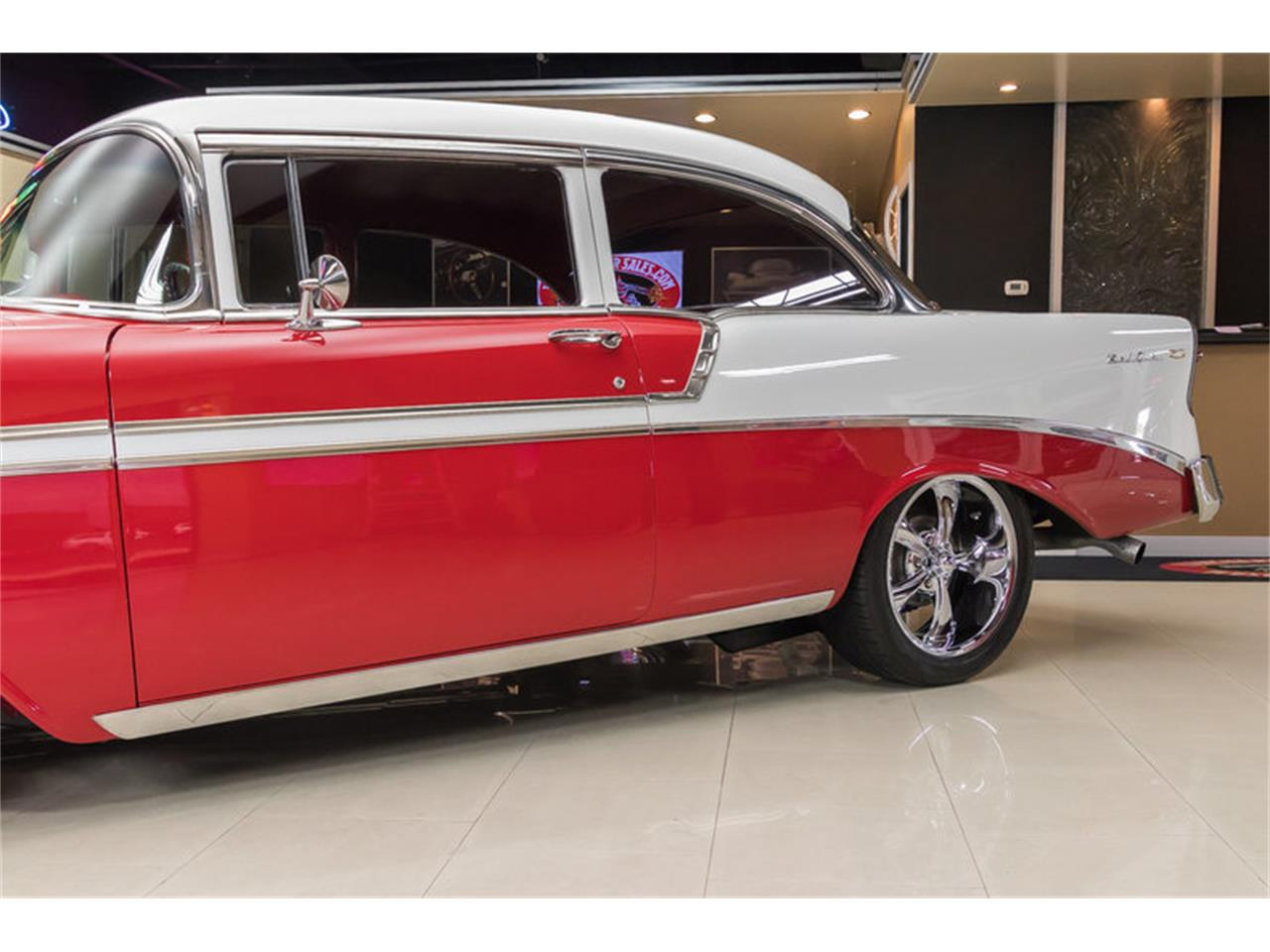 Large Picture of 1956 Chevrolet Bel Air located in Plymouth Michigan Offered by Vanguard Motor Sales - L53N