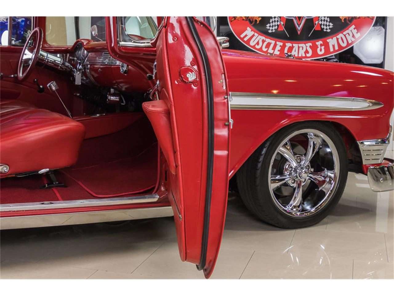 Large Picture of Classic '56 Bel Air located in Plymouth Michigan - $64,900.00 Offered by Vanguard Motor Sales - L53N