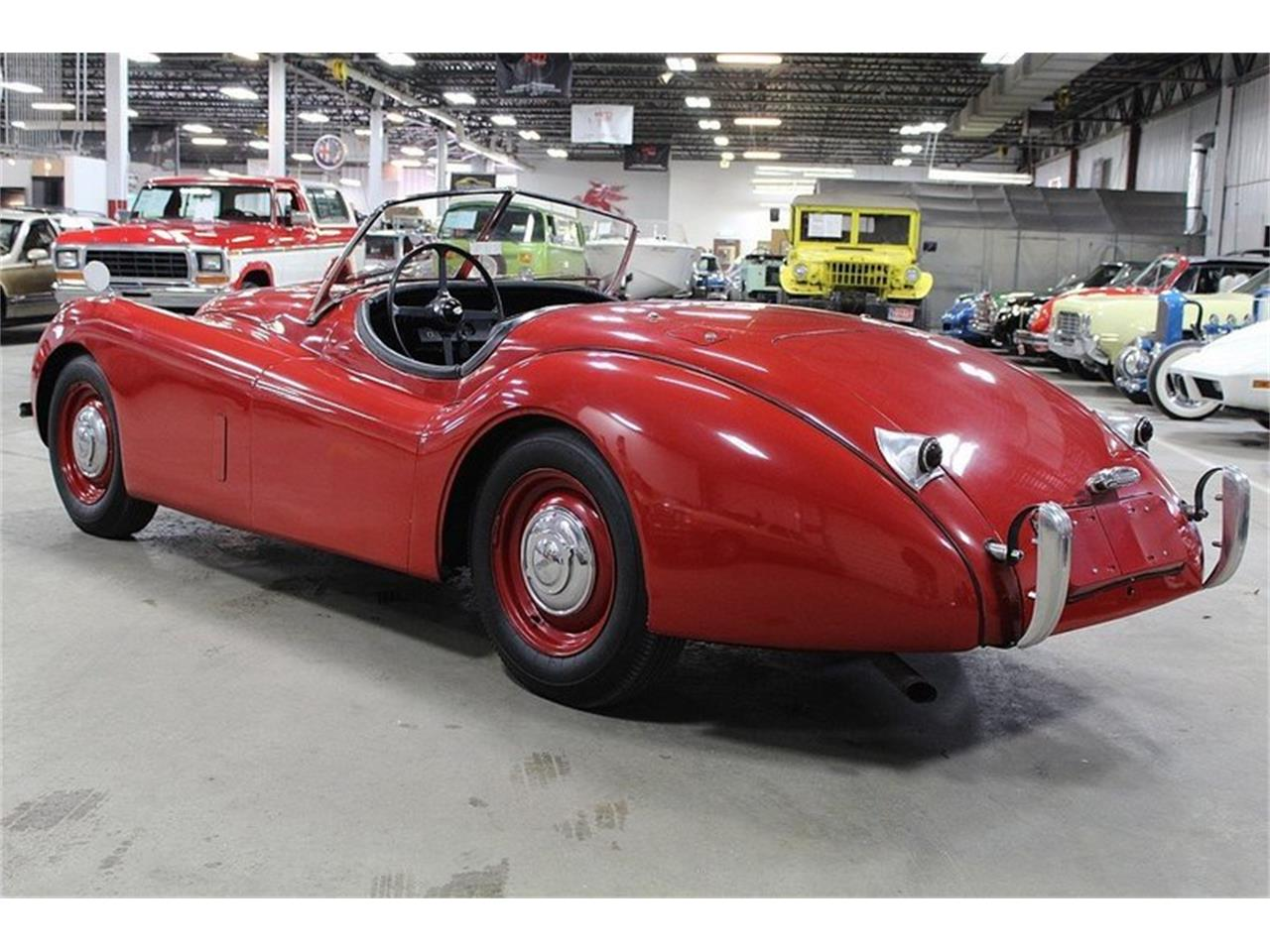 Large Picture of 1954 Jaguar XK120 located in Kentwood Michigan - $69,900.00 Offered by GR Auto Gallery - L561