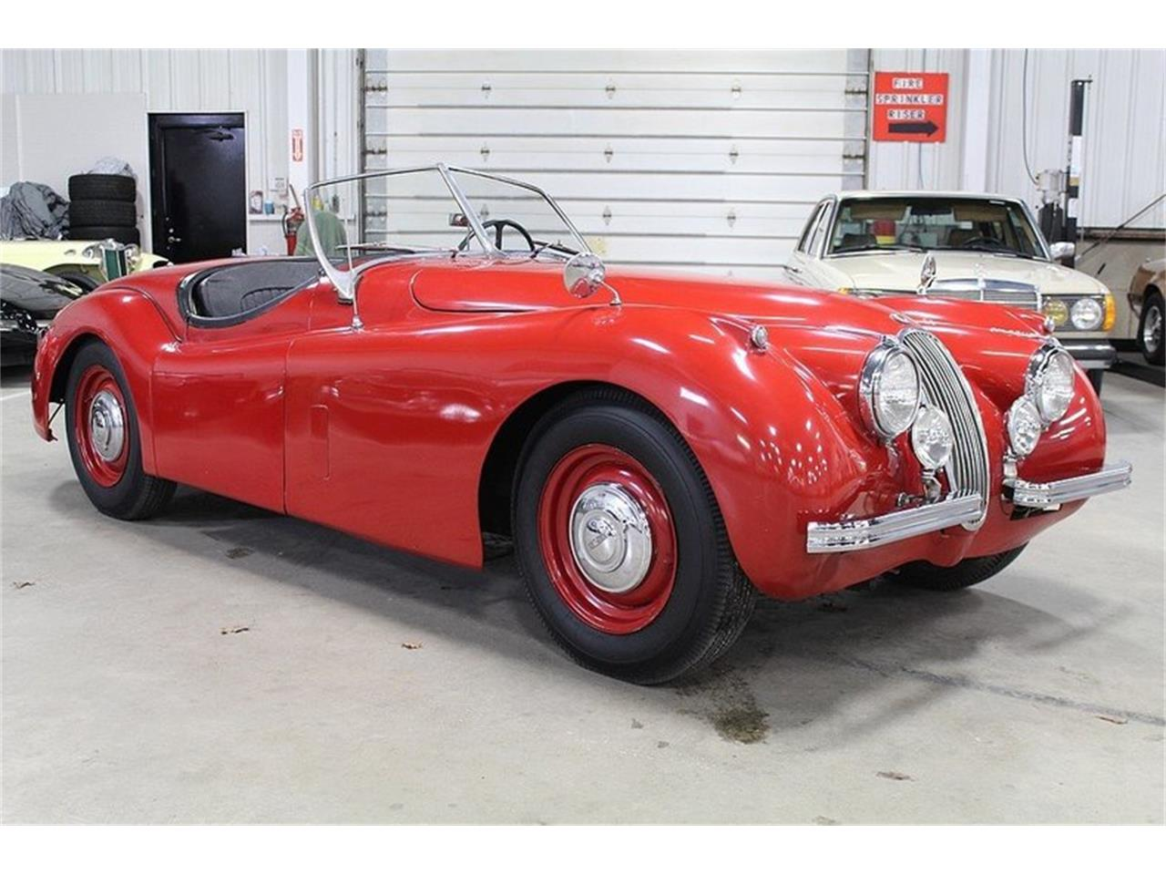 Large Picture of Classic '54 Jaguar XK120 located in Kentwood Michigan - $69,900.00 - L561