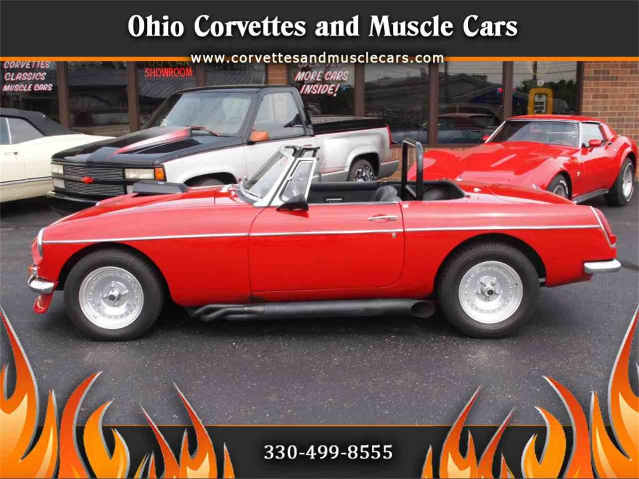 Large Picture of '68 MG MGB - $28,500.00 Offered by Ohio Corvettes and Muscle Cars - L59M