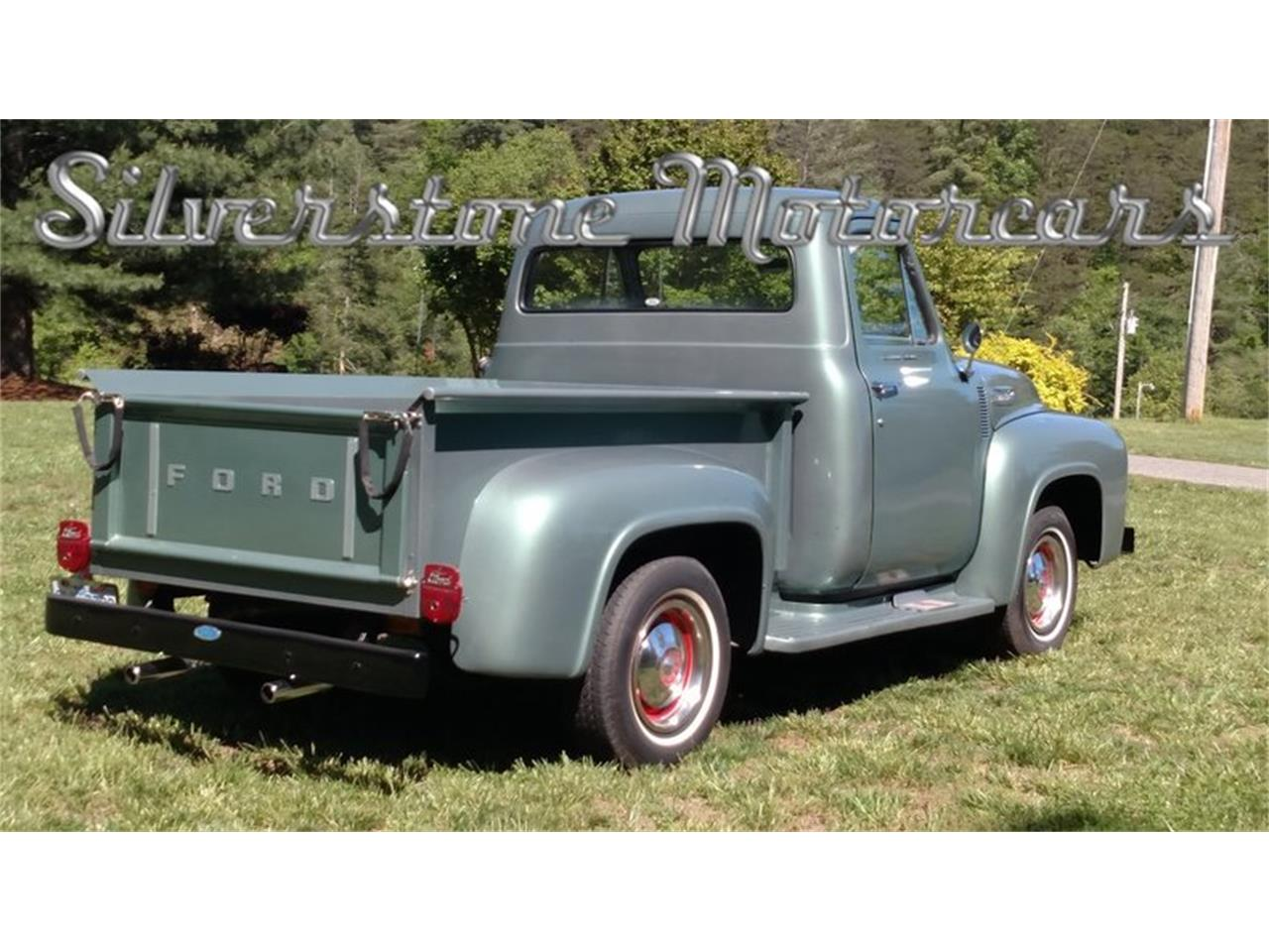 Large Picture of Classic '54 Ford F1 located in North Andover Massachusetts Offered by Silverstone Motorcars - L5CB