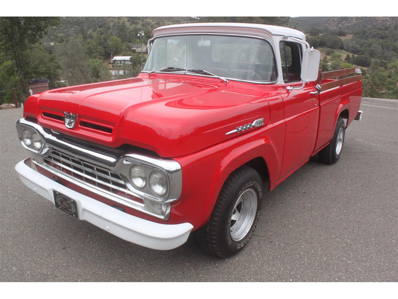 1960 Ford F100 For Sale Cc 987052 1955 Pick Up Gauge Cluster Large Picture Of 60 L5m4