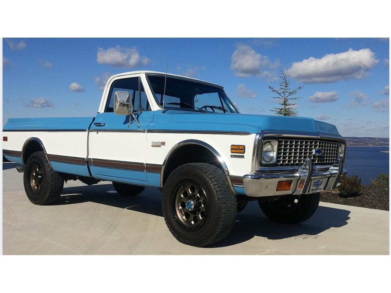 1972 Chevrolet Cheyenne For Sale Cc 980712 1966 Chevy Super 4x4 Large Picture Of 72 L0q0
