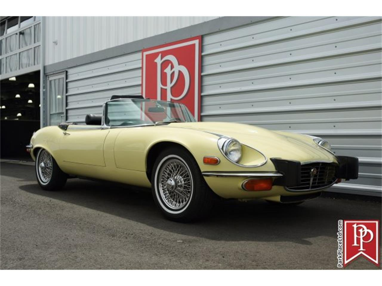 Large Picture of 1974 Jaguar XKE located in Bellevue Washington Offered by Park Place Ltd - L5TJ