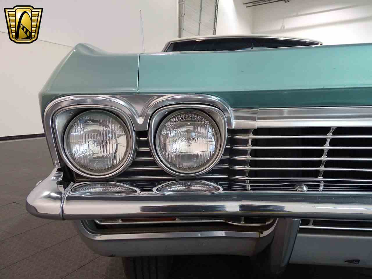 Large Picture of '65 Chevrolet Impala located in Indianapolis Indiana - $34,995.00 Offered by Gateway Classic Cars - Indianapolis - L5YV