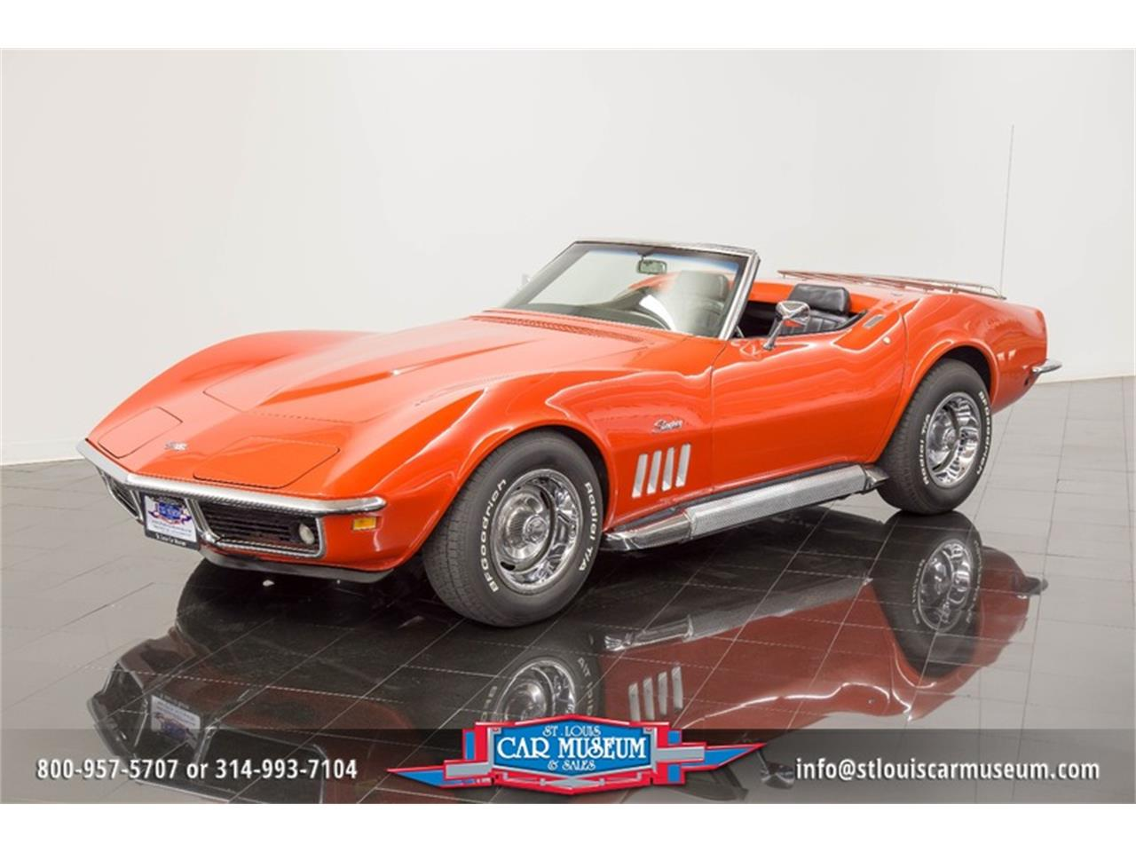 Corvette Stingray 1969 >> 1969 Chevrolet Corvette Stingray Convertible In St Louis Missouri