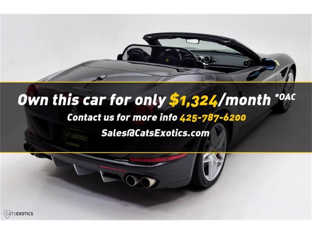 Large Picture of '16 Ferrari California Auction Vehicle Offered by Cats Exotics - L63E
