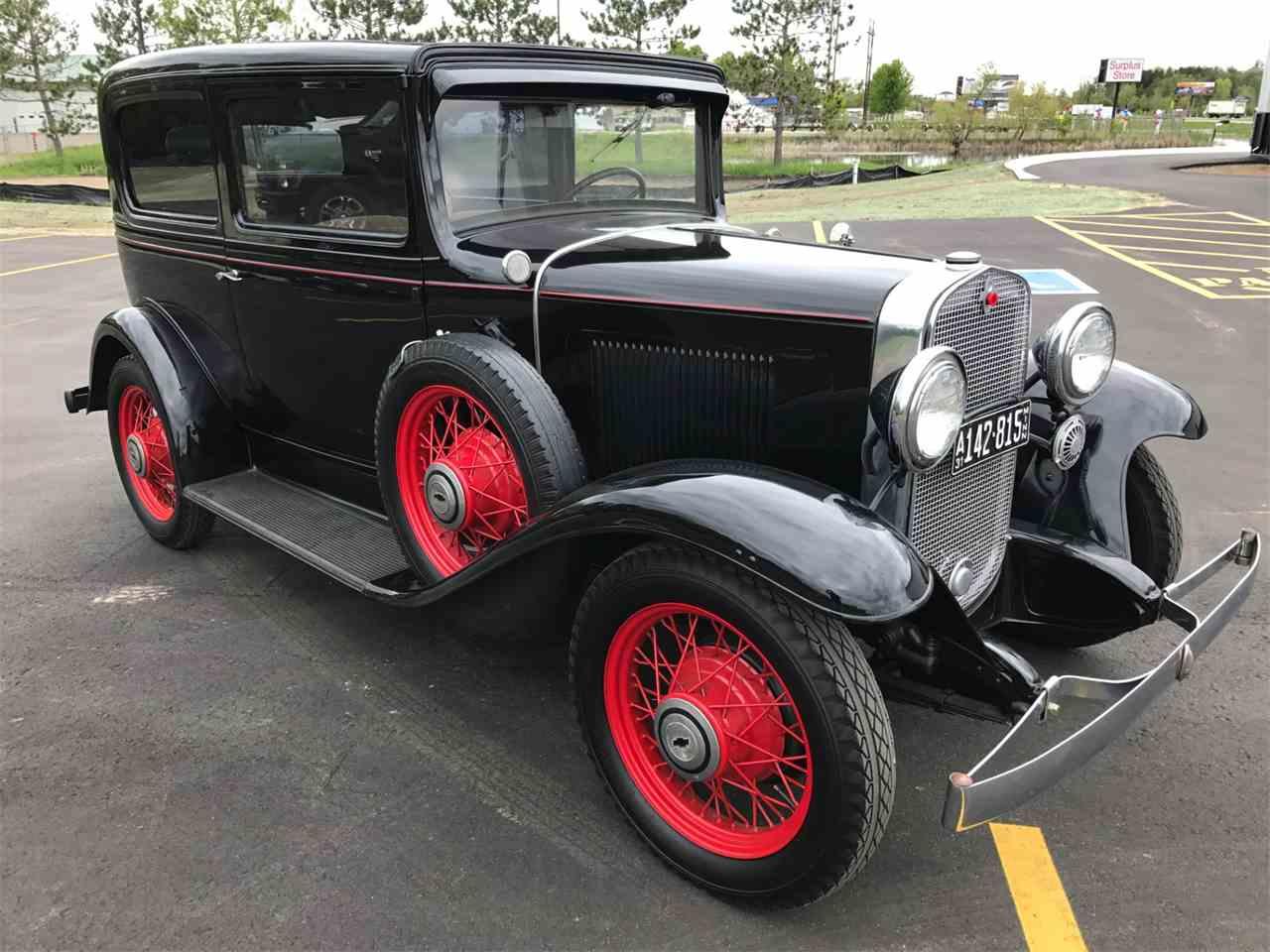 1931 chevrolet 2 dr coach for sale cc 987720. Black Bedroom Furniture Sets. Home Design Ideas