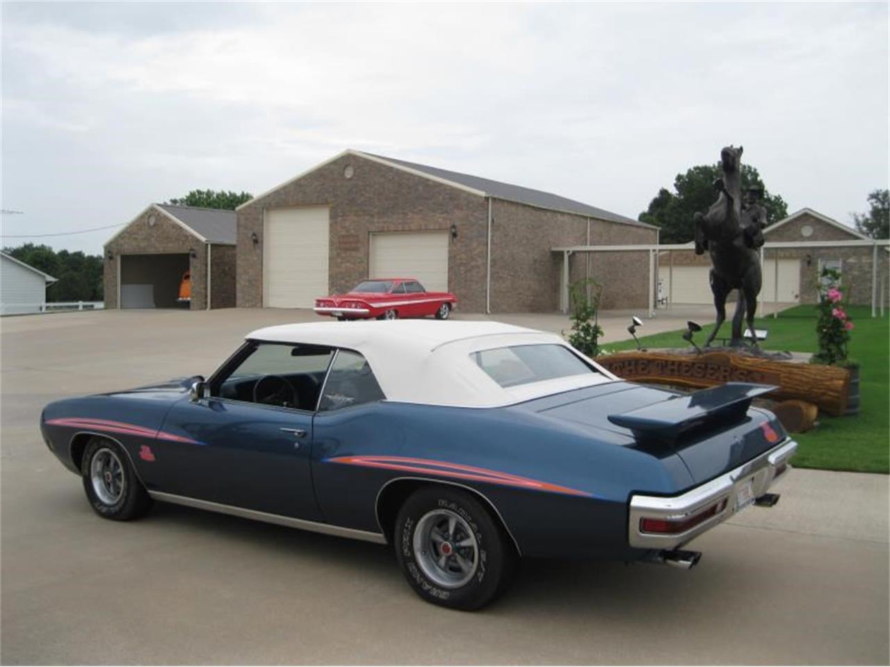 Large Picture of 1970 Pontiac GTO located in Colcord Oklahoma Offered by Yesterday's Classic Cars  - L666