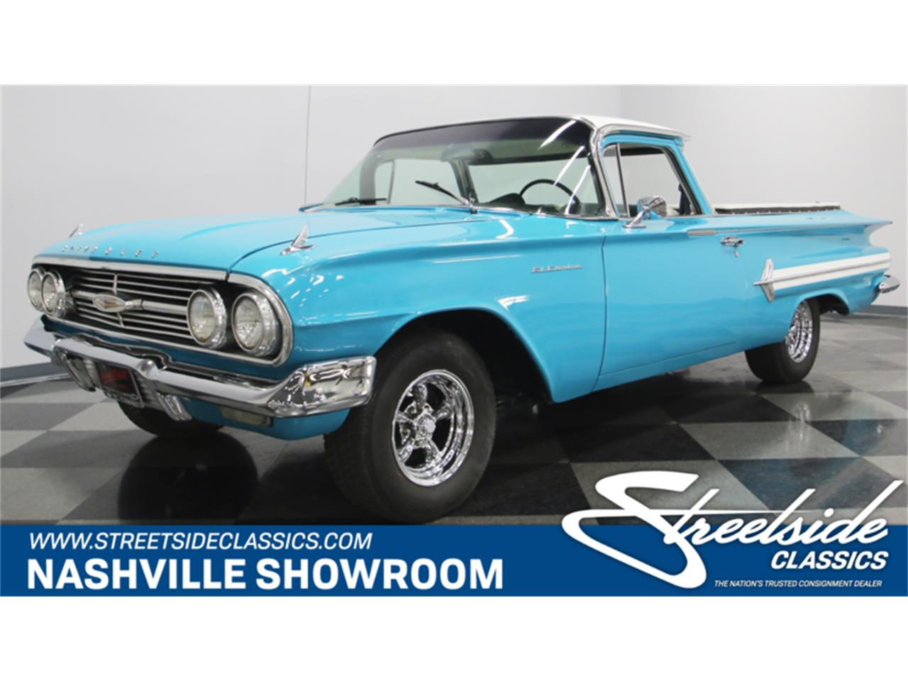 Large Picture of Classic 1960 El Camino located in Tennessee Offered by Streetside Classics - Nashville - L6AL