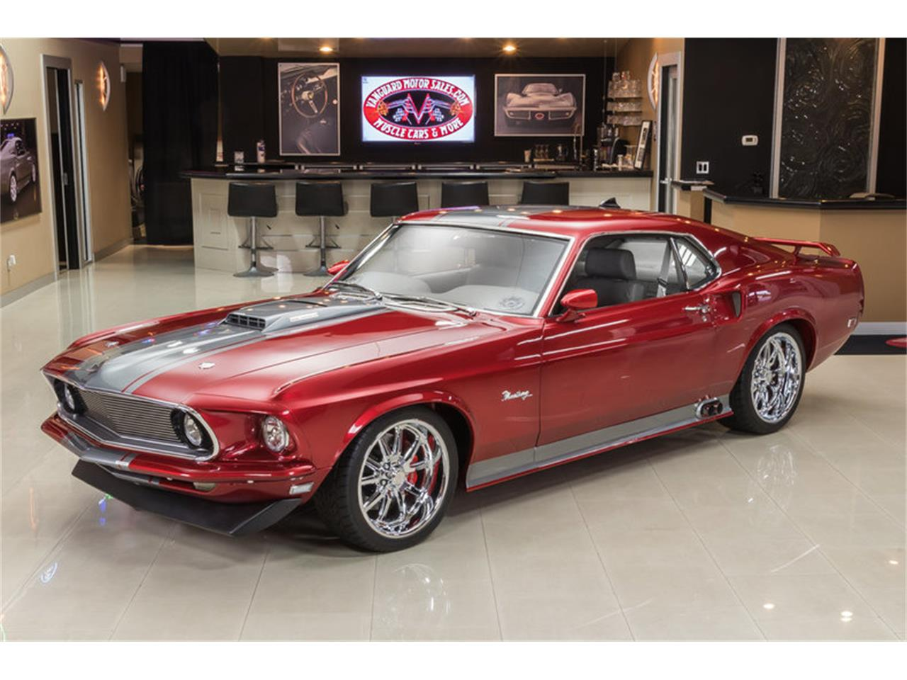 Large Picture of Classic 1969 Mustang Fastback Restomod located in Michigan - L6C8