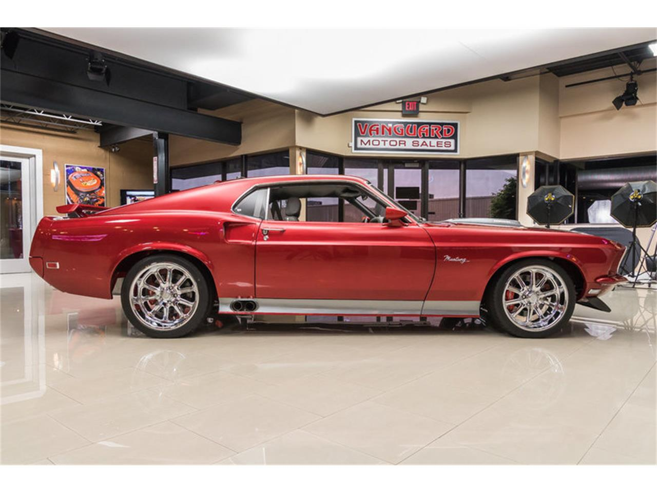 Large Picture of Classic '69 Ford Mustang Fastback Restomod located in Plymouth Michigan - L6C8
