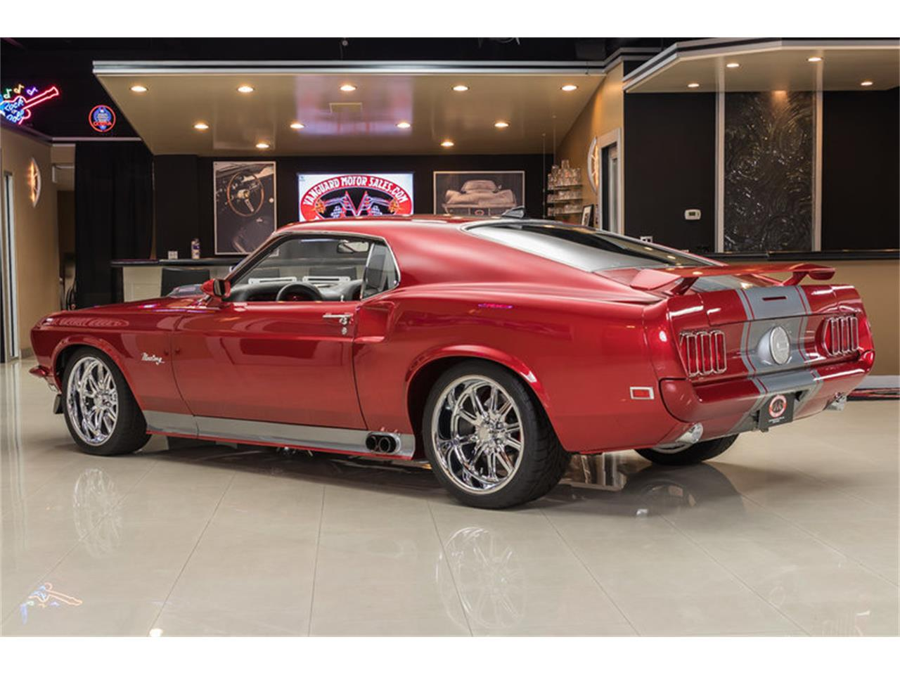 Large Picture of Classic 1969 Ford Mustang Fastback Restomod - $194,900.00 Offered by Vanguard Motor Sales - L6C8