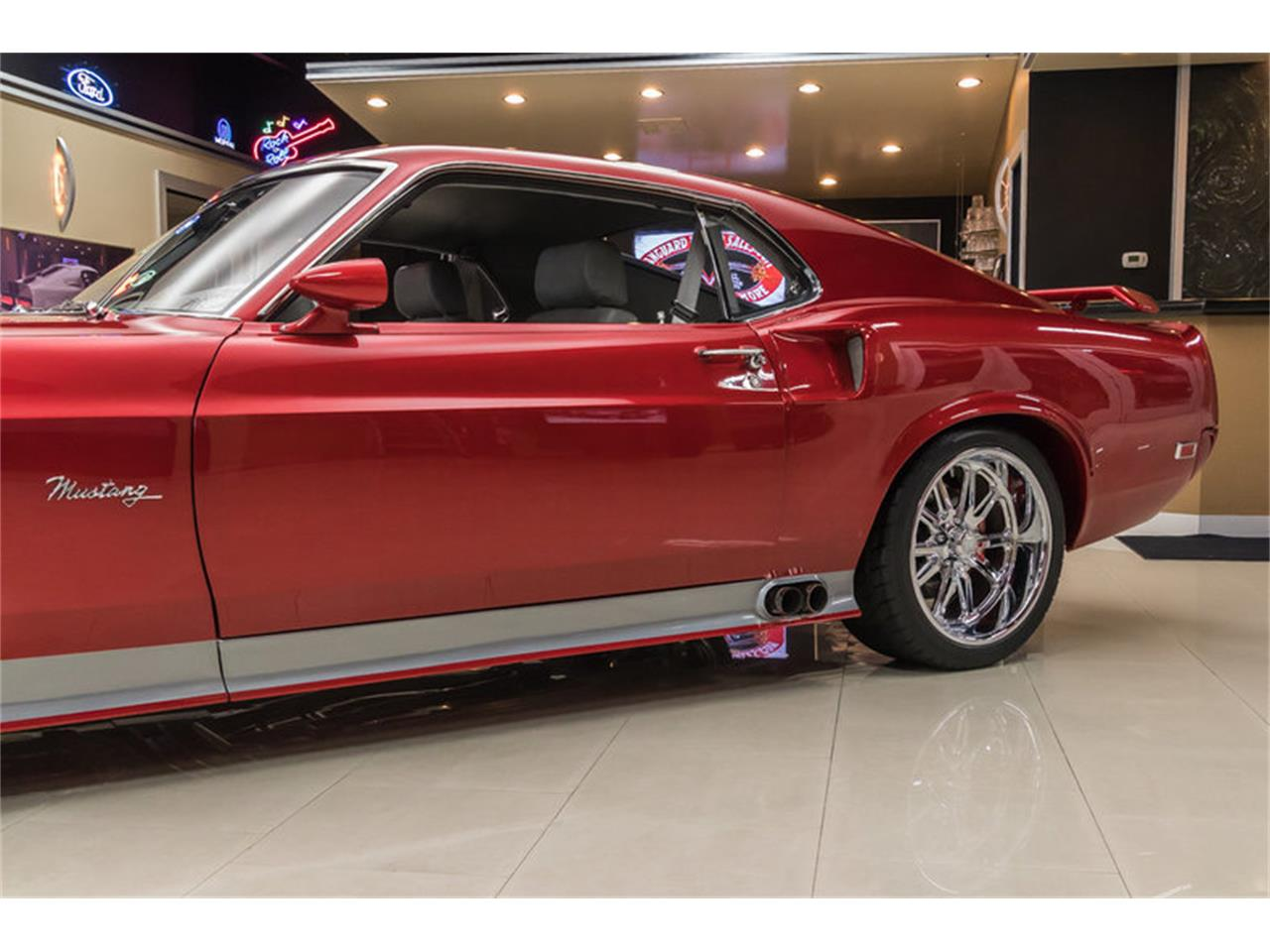 Large Picture of 1969 Ford Mustang Fastback Restomod located in Michigan Offered by Vanguard Motor Sales - L6C8