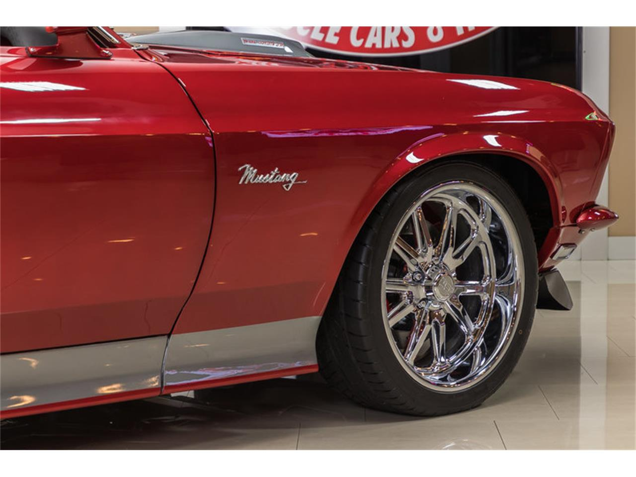 Large Picture of Classic '69 Mustang Fastback Restomod located in Michigan - $194,900.00 Offered by Vanguard Motor Sales - L6C8