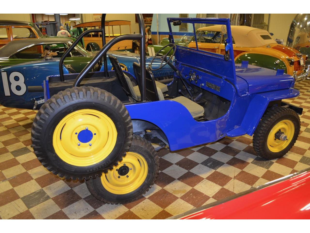 Large Picture of '46 Jeep Willys Civilian Offered by Spoke Motors - L6DW