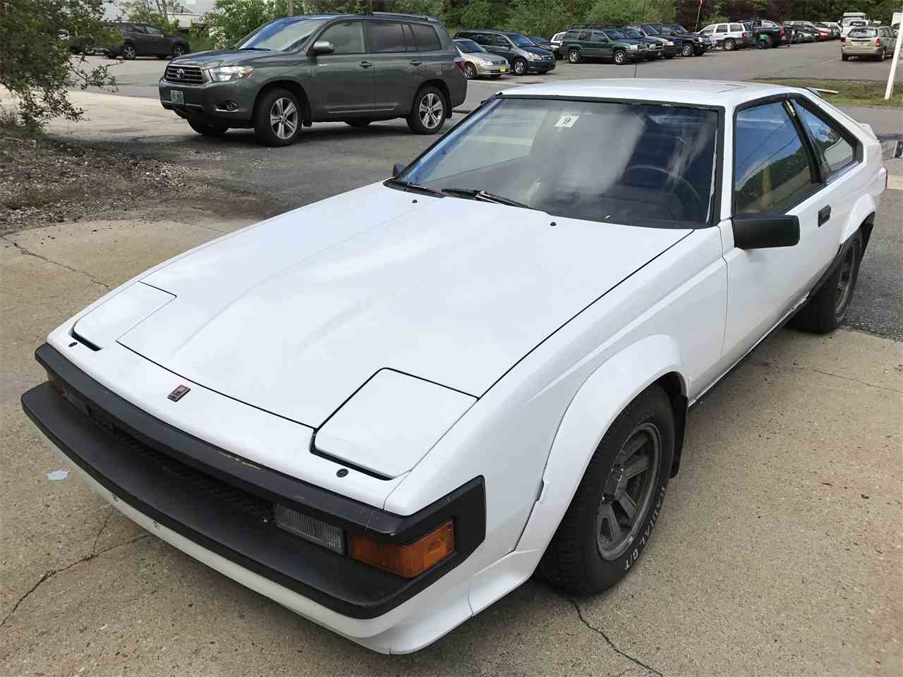 1984 toyota supra for sale cc 988106. Black Bedroom Furniture Sets. Home Design Ideas