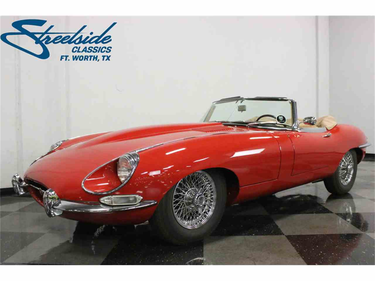 Large Picture of '67 E-Type XKE Roadster - L6G7