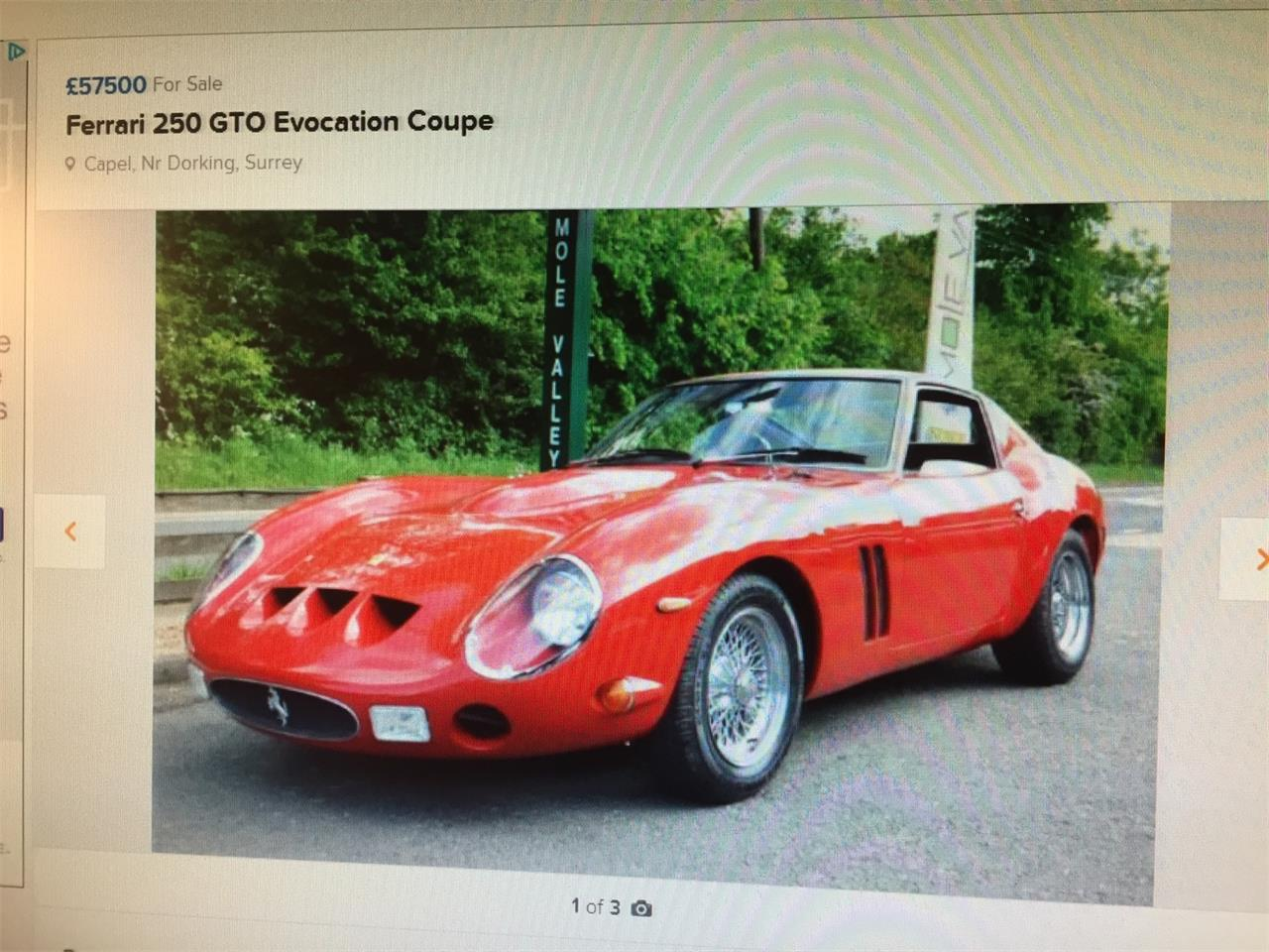 Large Picture of '74 250 GTO Replica Velorossa  - L6GW