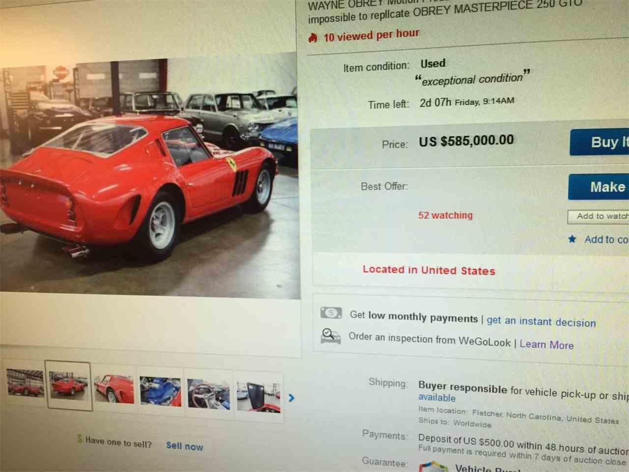 Large Picture of '74 250 GTO Replica Velorossa  - L6GW