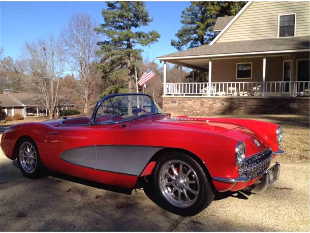 1957 chevrolet corvette for sale cc 988257. Black Bedroom Furniture Sets. Home Design Ideas