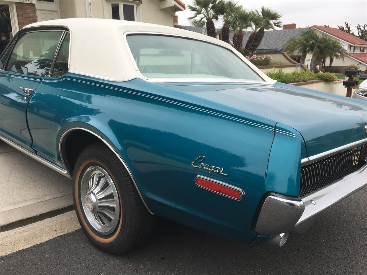 Large Picture of Classic 1968 Mercury Cougar  - $20,000.00 - L6MB