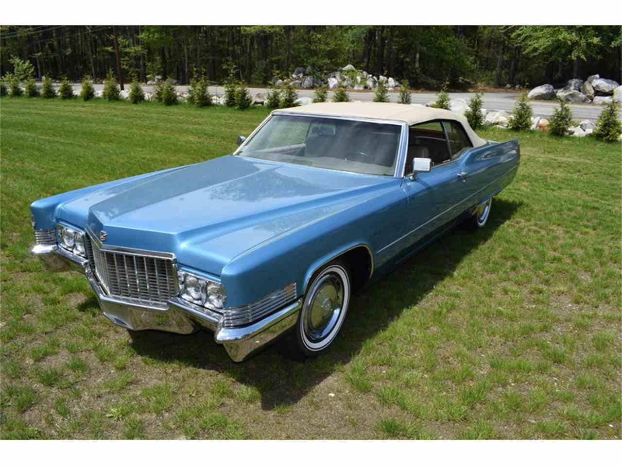 1970 Cadillac DeVille for Sale | ClicCars.com | CC-988376