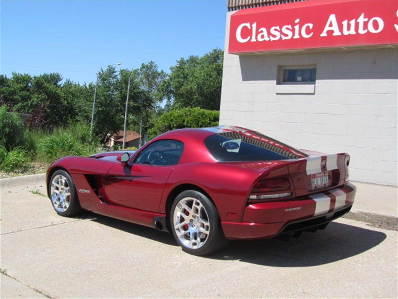 Large Picture of 2008 Dodge Viper located in Omaha Nebraska Offered by Classic Auto Sales - L6OA