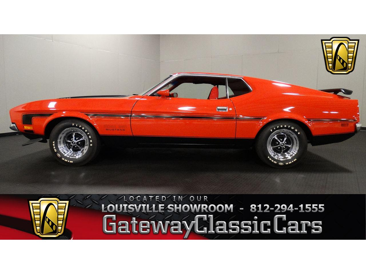 Large Picture of '71 Mustang located in Memphis Indiana Offered by Gateway Classic Cars - Louisville - L6RZ