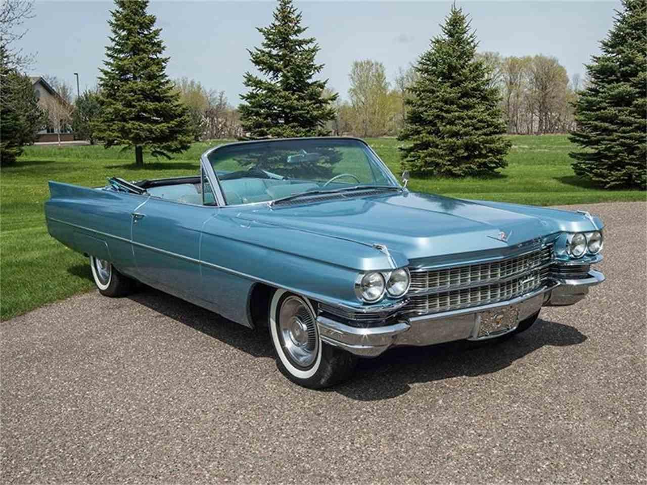 1963 Cadillac DeVille for Sale | ClicCars.com | CC-980898