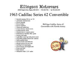 Picture of Classic '63 Cadillac DeVille located in Minnesota - $29,950.00 Offered by Ellingson Motorcars - L0V6