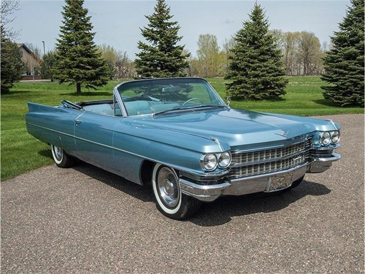 Large Picture of Classic '63 Cadillac DeVille Offered by Ellingson Motorcars - L0V6