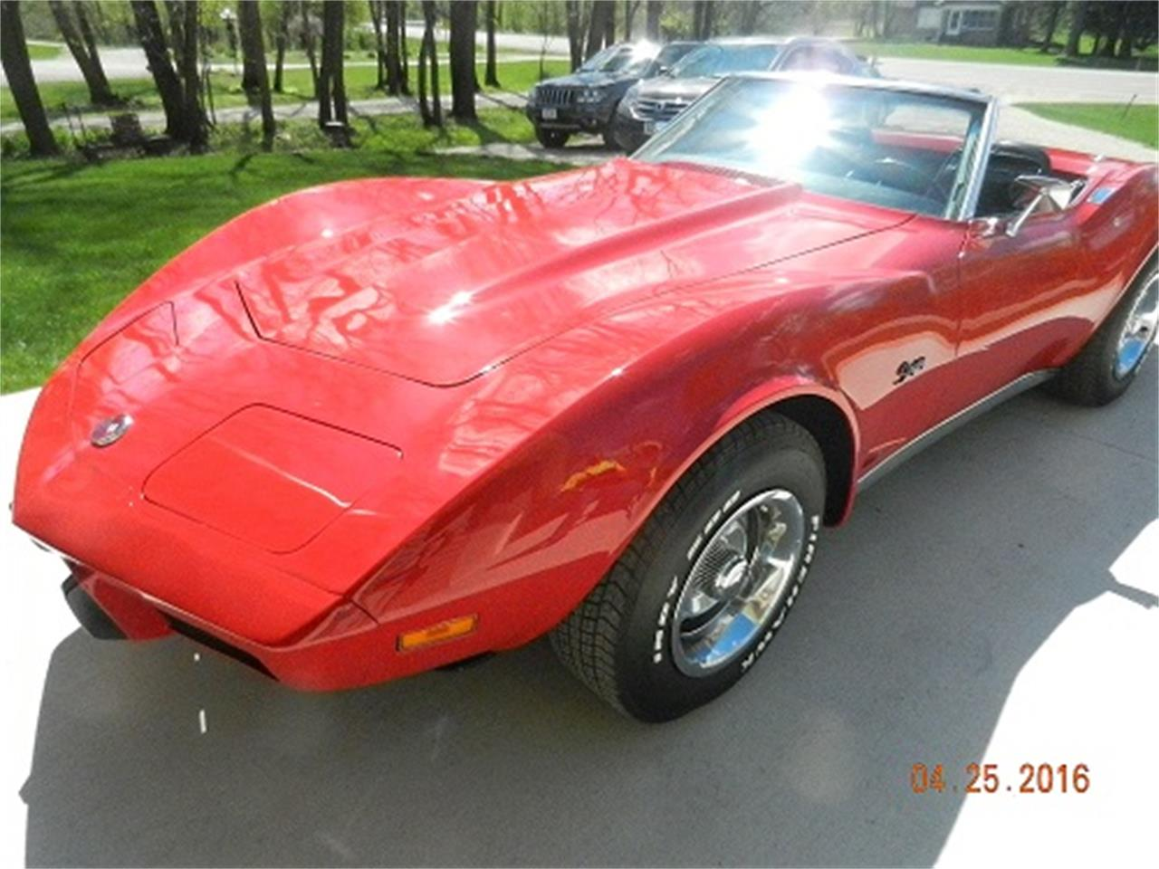 Large Picture of 1975 Corvette located in Dodge Center Minnesota Offered by McGeorge Classics - L76E