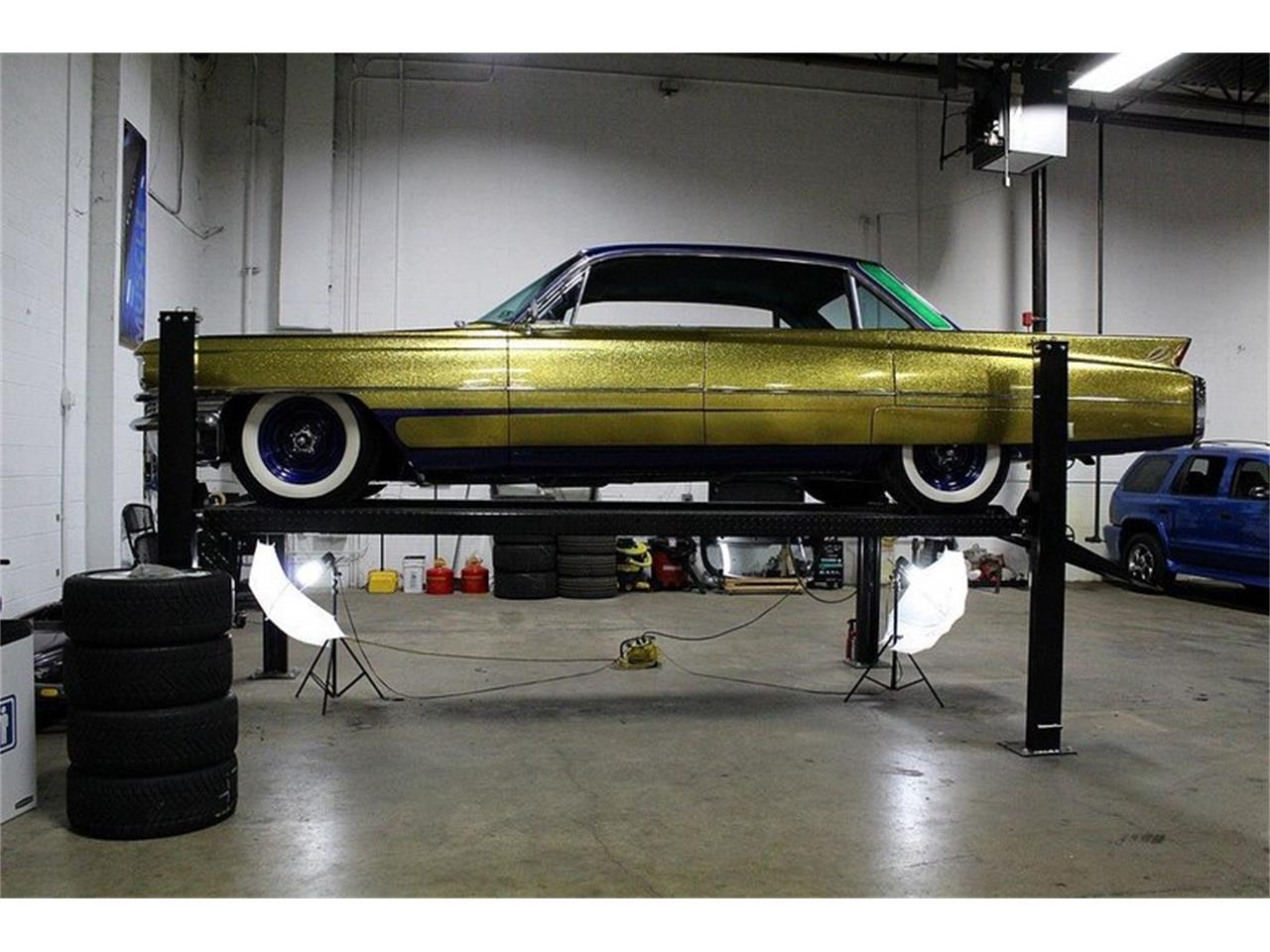 Large Picture of 1963 Cadillac Series 62 located in Michigan Offered by GR Auto Gallery - L7B1