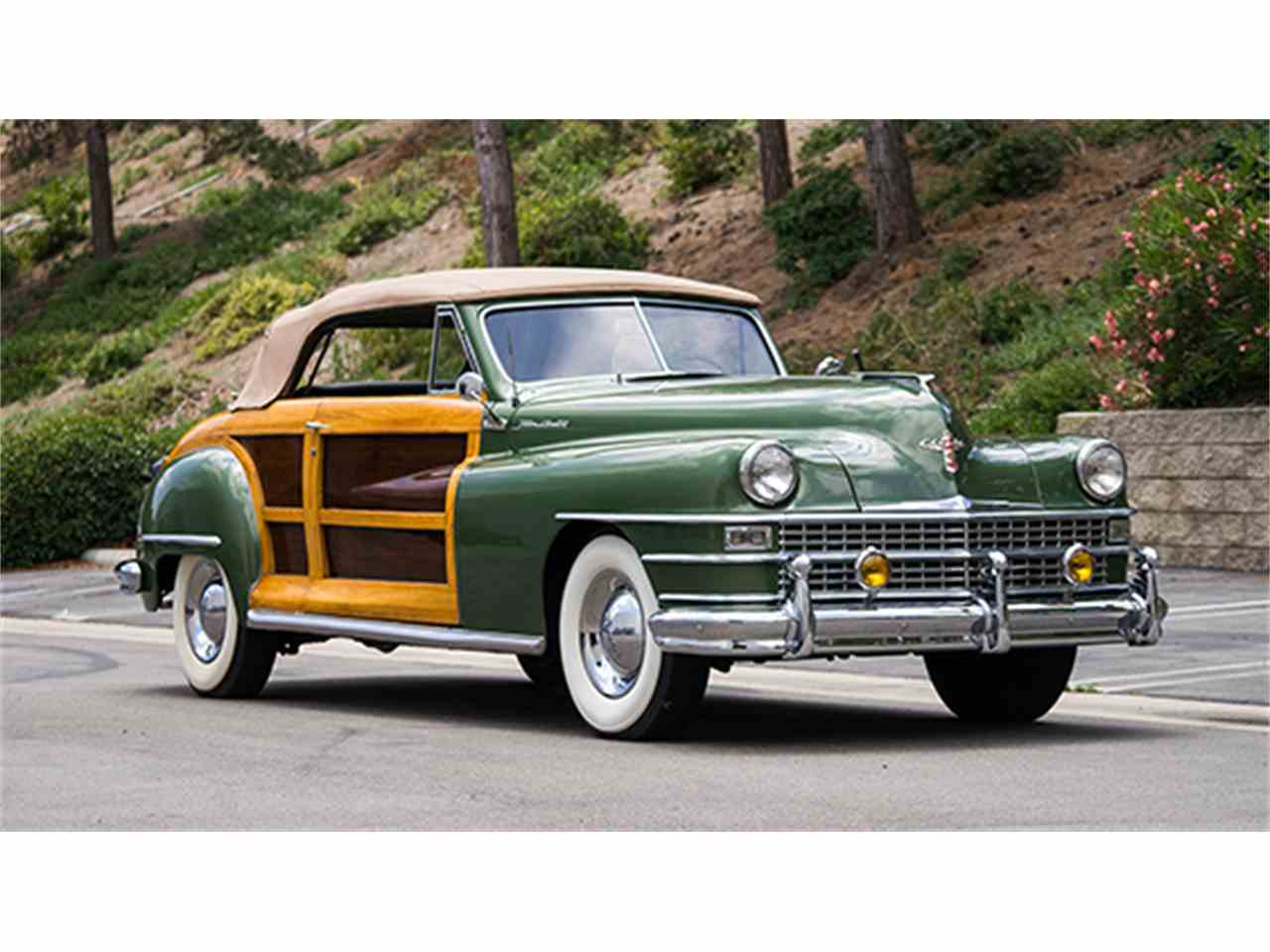 1948 chrysler town and country convertible for sale cc 989267. Black Bedroom Furniture Sets. Home Design Ideas