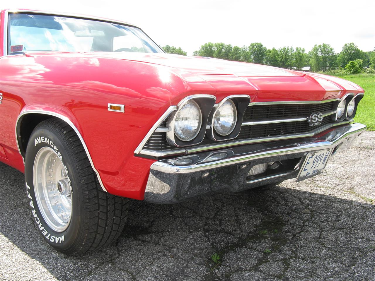 Large Picture of '69 El Camino - L7DN