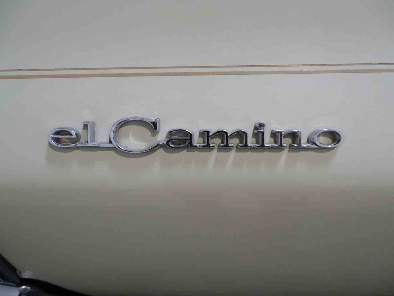 Large Picture of '68 El Camino - L7HC
