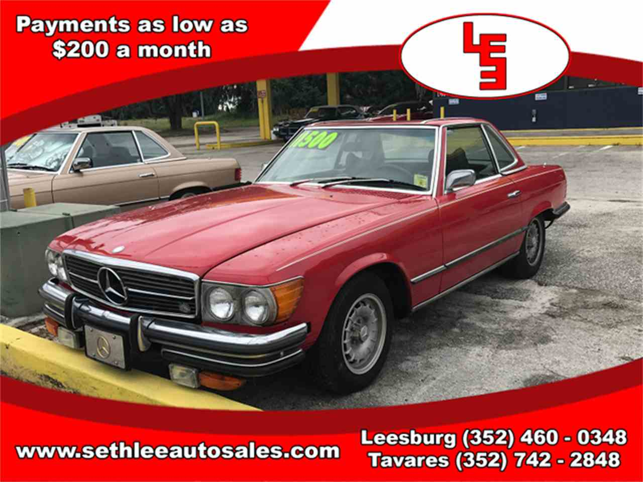 Large Picture of Classic 1972 450SL Offered by Seth Lee Auto Sales - L7HE