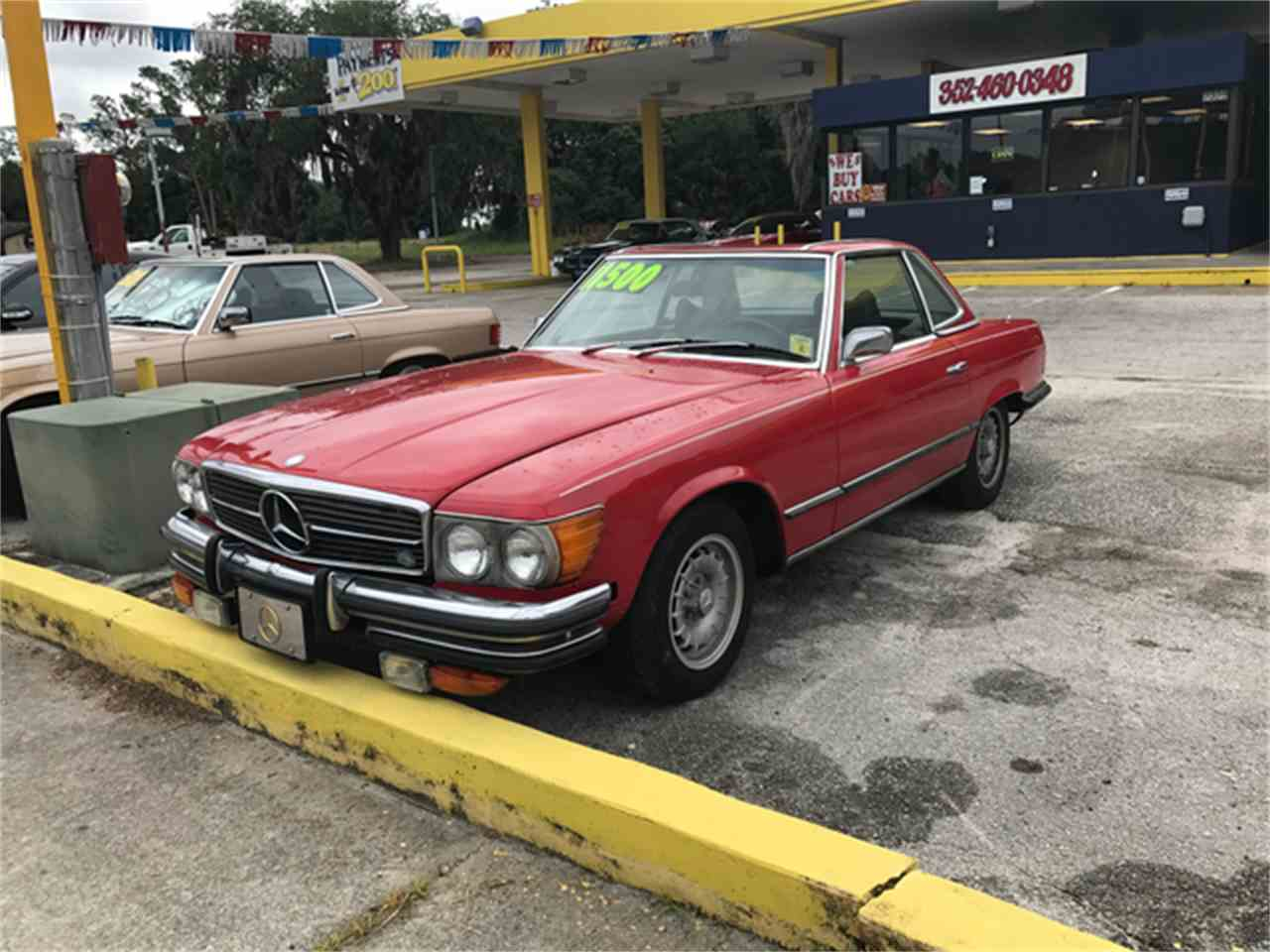 Large Picture of 1972 Mercedes-Benz 450SL located in Tavares Florida - $10,500.00 Offered by Seth Lee Auto Sales - L7HE