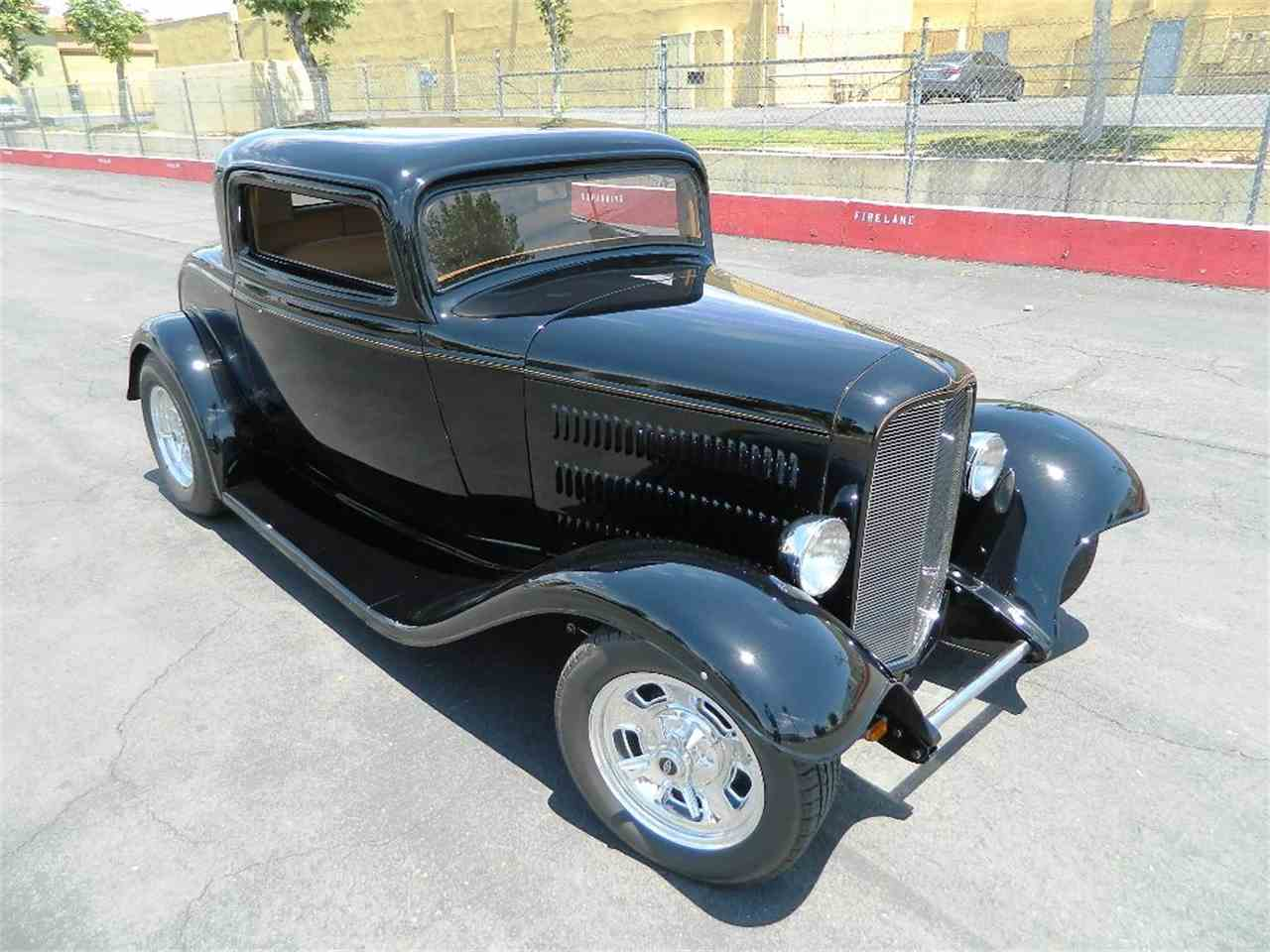 Classic Cars For Sale California Usa: 1932 Ford Full Fender Street Rod For Sale