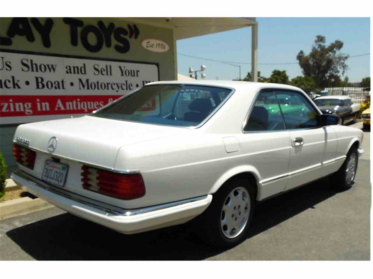 Large Picture of '85 500SEC located in Redlands California Offered by Play Toys Classic Cars - L7MB