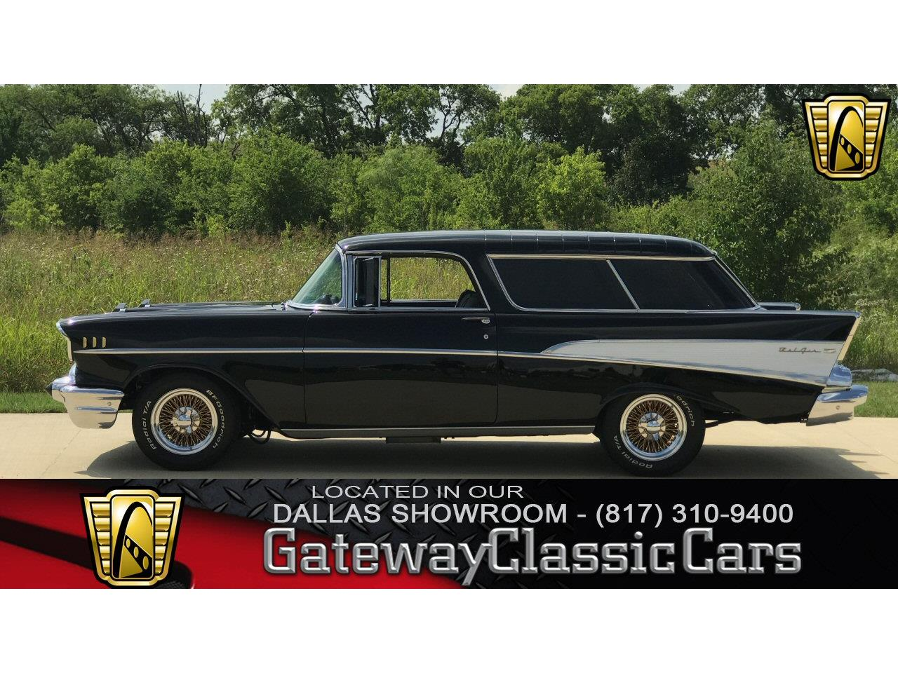 Large Picture of '57 Nomad located in DFW Airport Texas - $59,000.00 Offered by Gateway Classic Cars - Dallas - L7NG