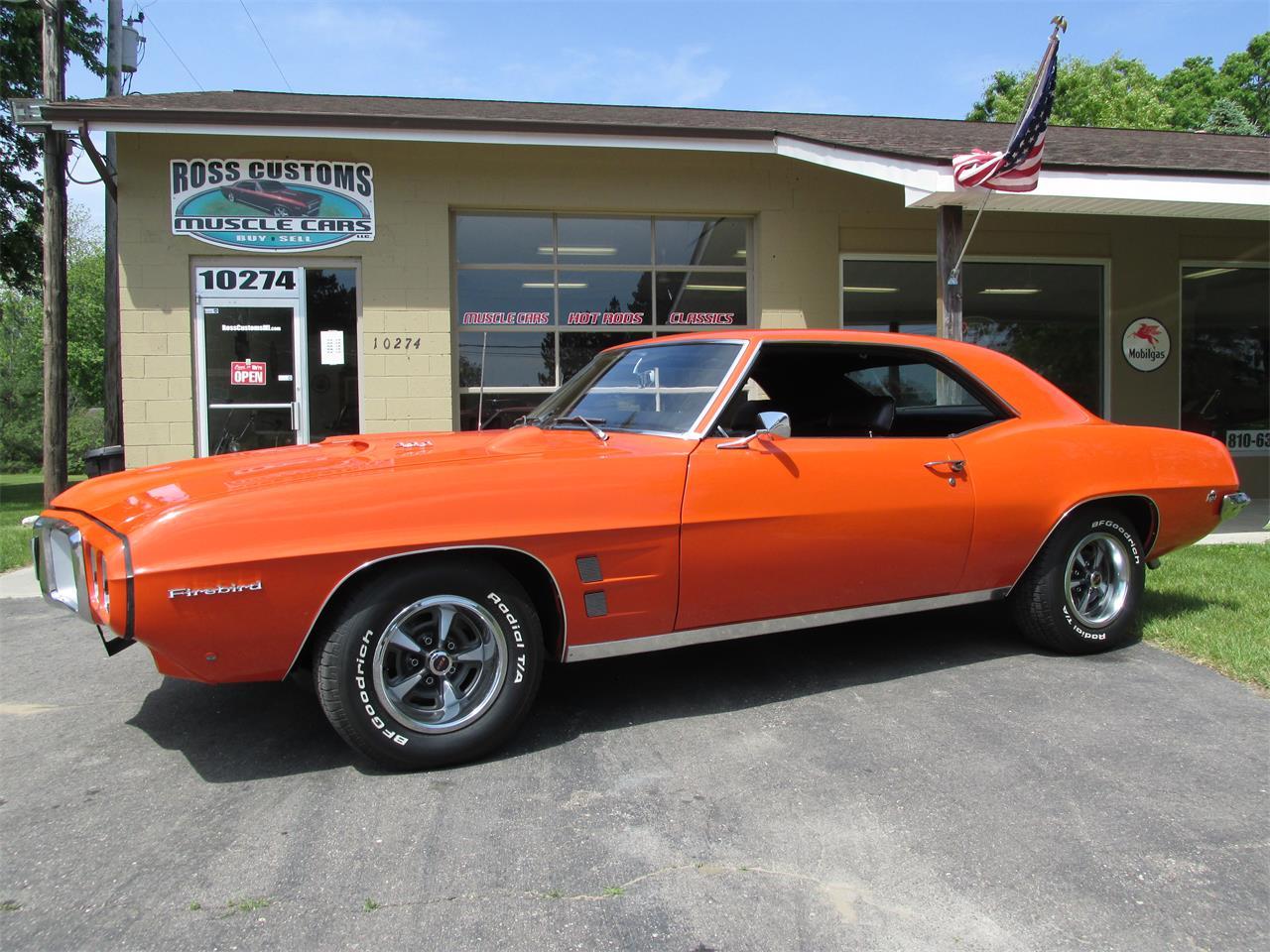 For Sale: 1969 Pontiac Firebird in Goodrich, Michigan