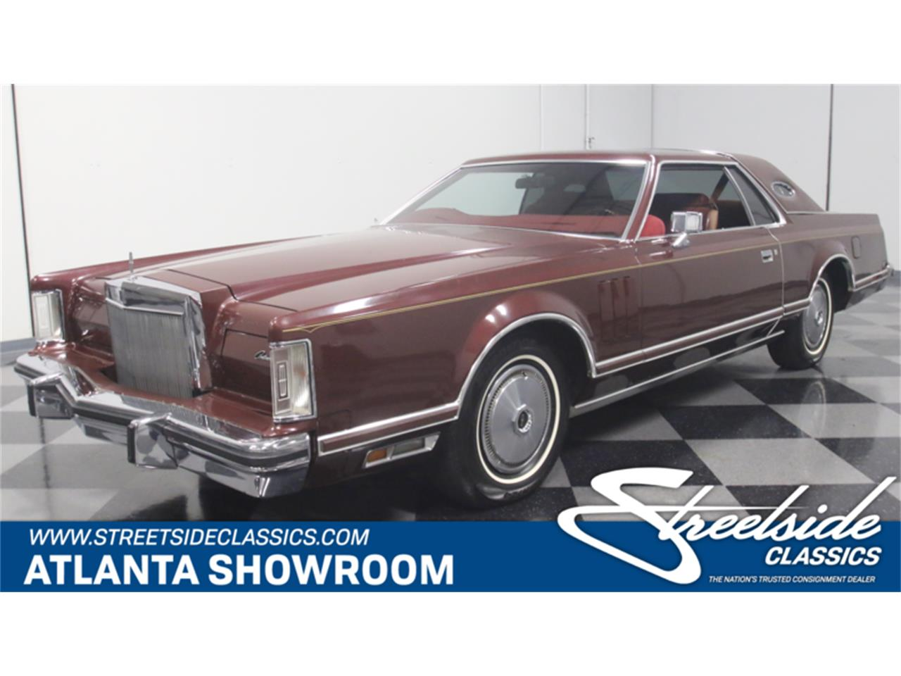 Large Picture of 1977 Continental Mark V - $10,995.00 Offered by Streetside Classics - Atlanta - L8OM