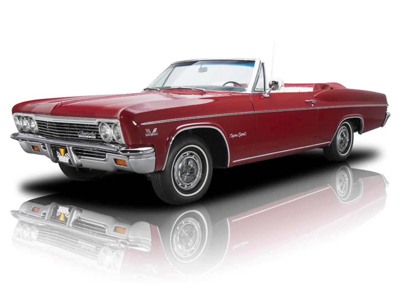 Large Picture of 1966 Impala SS located in Charlotte North Carolina - L8OP