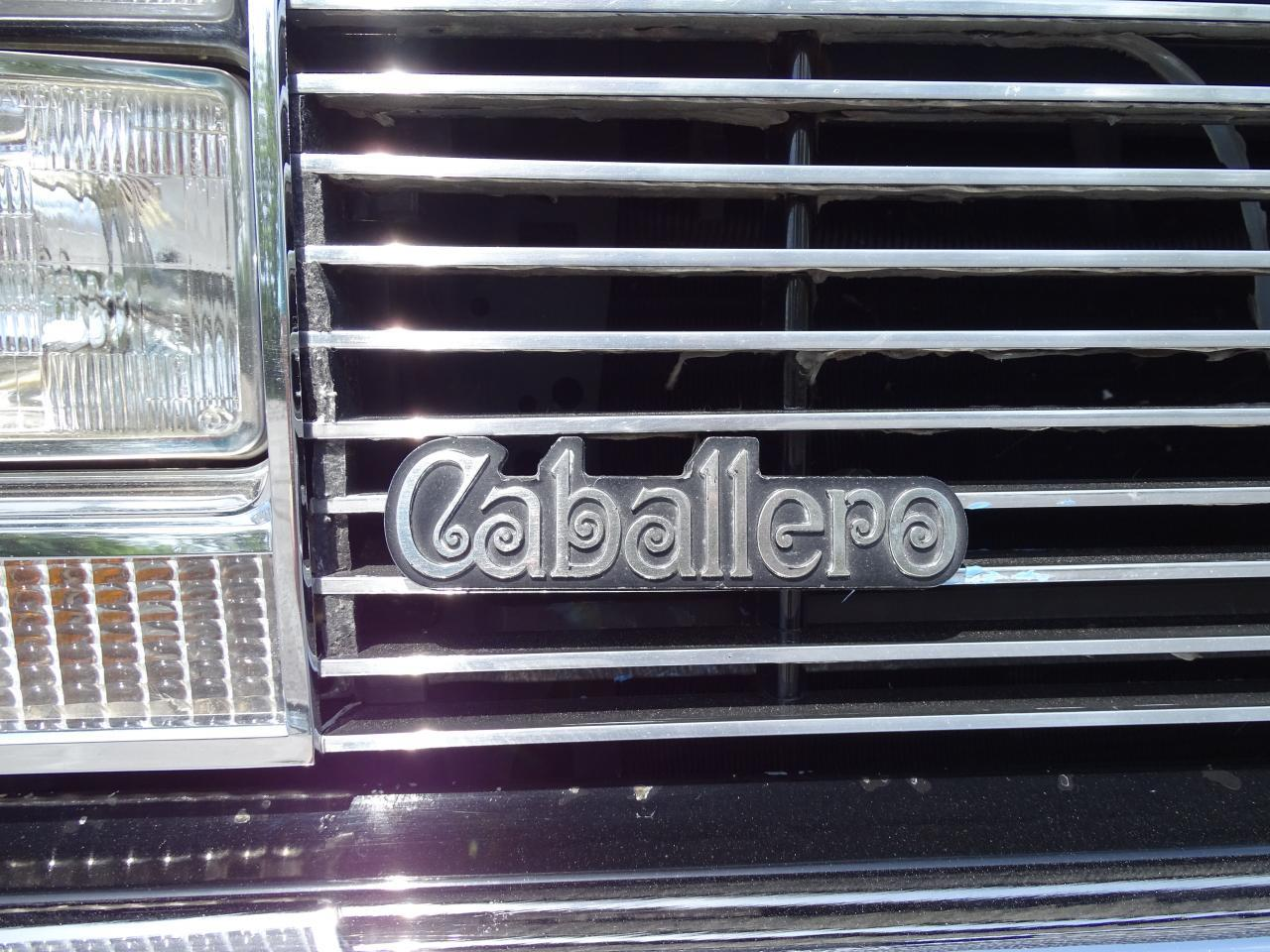 Large Picture of '86 Caballero - L8WO