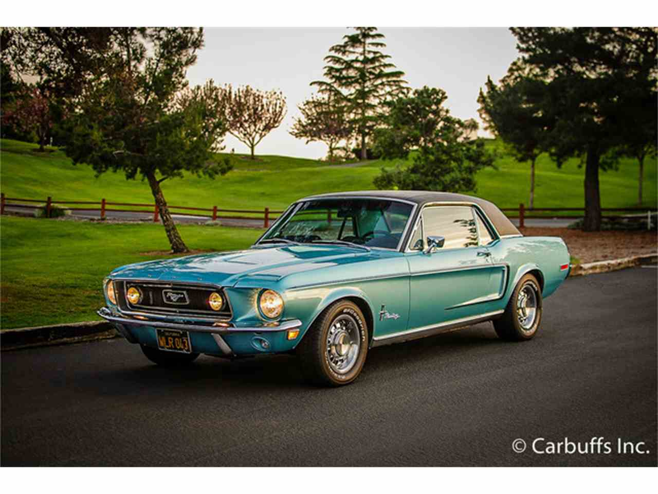 1968 ford mustang for sale cc 991351. Black Bedroom Furniture Sets. Home Design Ideas