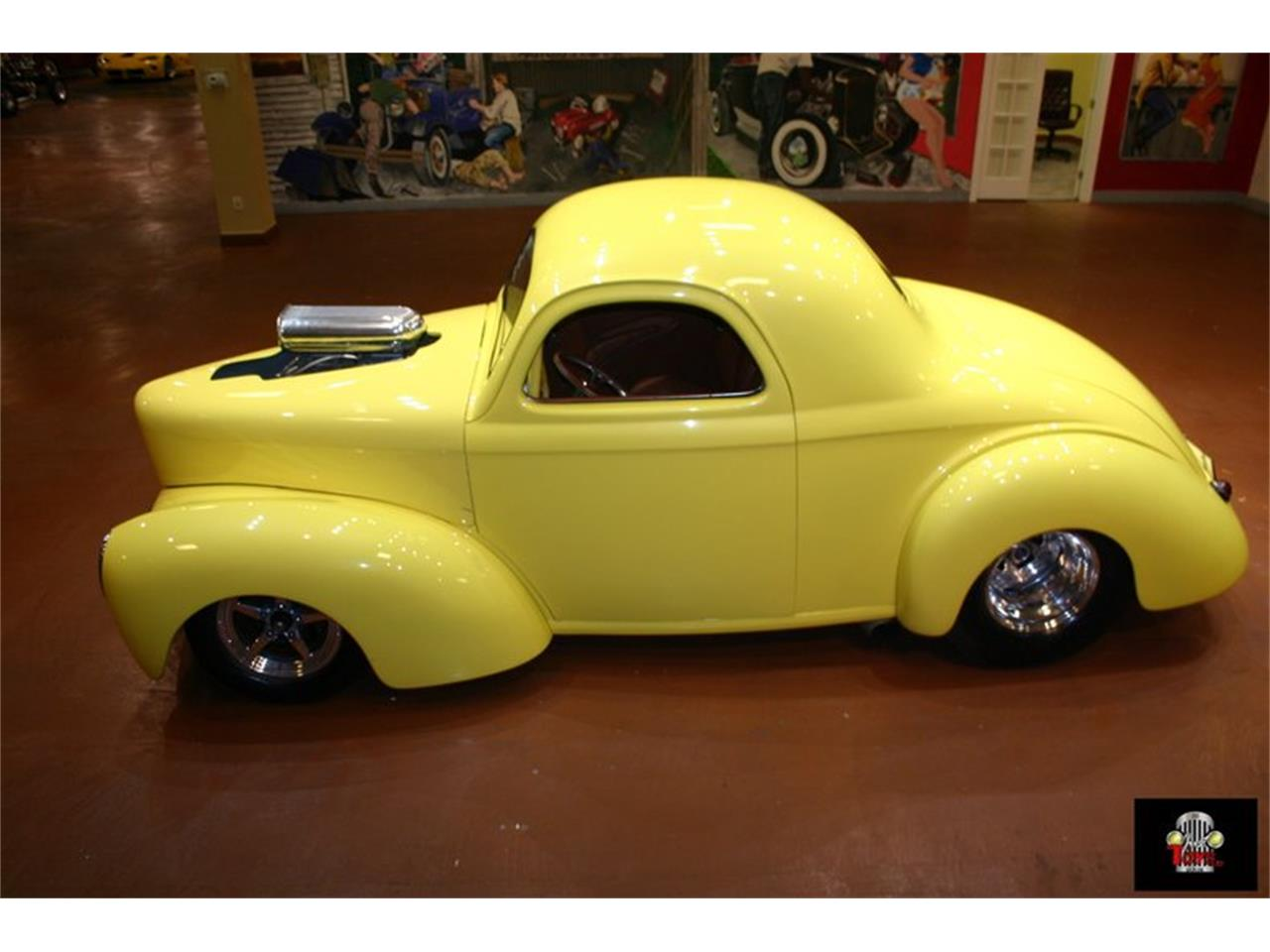 Large Picture of '41 Willys Street Rod located in Florida Offered by Just Toys Classic Cars - L901
