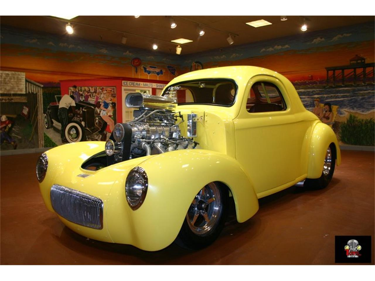 Large Picture of Classic '41 Willys Street Rod located in Florida Offered by Just Toys Classic Cars - L901